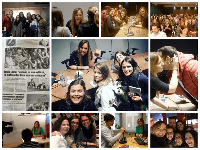 """Presentación de """"Lo mejor de nuestras vidas"""" en Oviedo. Embargada por la emoción de volver a casa."""